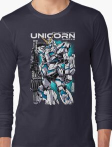 Unicorn Gundam T-Shirt Long Sleeve T-Shirt