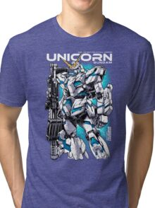 Unicorn Gundam T-Shirt Tri-blend T-Shirt