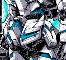 Unicorn Gundam T-Shirt Sticker
