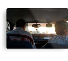 The Taxi Metal Print