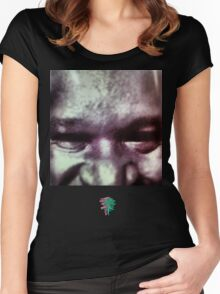 Shaqq From The Dead Women's Fitted Scoop T-Shirt