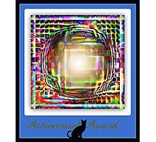 achievement award Photographic Print