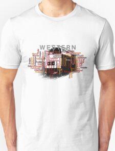 Class 52 Western Name Word Art Unisex T-Shirt
