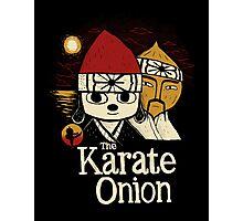 the karate onion Photographic Print