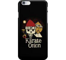the karate onion iPhone Case/Skin