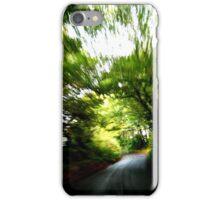 Blurry Forest (South Devon) iPhone Case/Skin