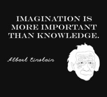 Imagination - Albert Einstein by galatria