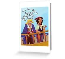 Monkey Island Greeting Card