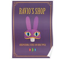 A Link Between Worlds: Ravio Poster Poster