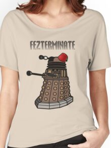 Dalek Fezterminate Women's Relaxed Fit T-Shirt