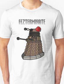 Dalek Fezterminate T-Shirt