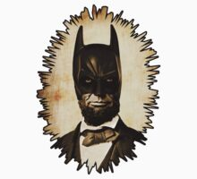 Batman + Abe Lincoln Mash Up by jcestaro33