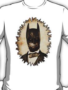 Batman + Abe Lincoln Mash Up T-Shirt