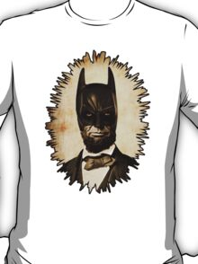 Batman + Abe Lincoln Mash Up T-Shirt