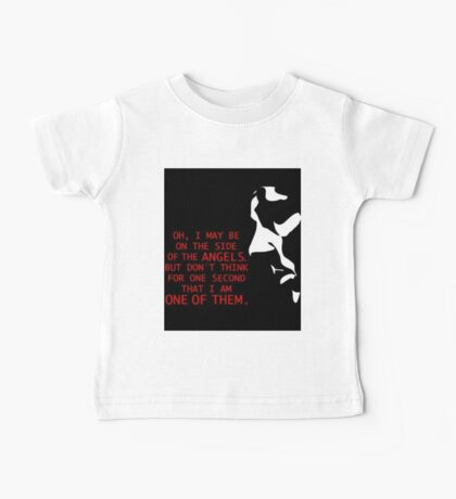 Sherlock's on the side of the Angels Baby Tee