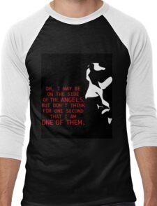 Sherlock's on the side of the Angels Men's Baseball ¾ T-Shirt