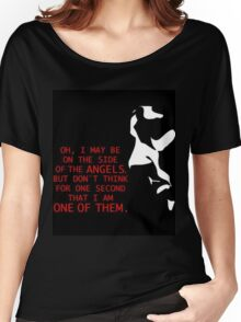Sherlock's on the side of the Angels Women's Relaxed Fit T-Shirt