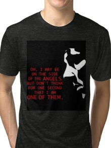 Sherlock's on the side of the Angels Tri-blend T-Shirt