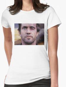 Mel's Black Eye Womens Fitted T-Shirt