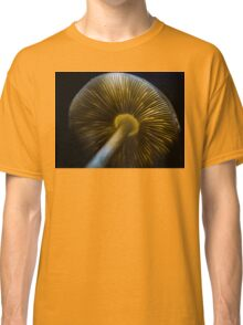 The Backlit Mushroom Classic T-Shirt