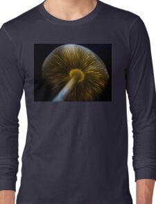The Backlit Mushroom Long Sleeve T-Shirt