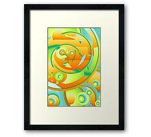 April Abstract No. 1 Framed Print