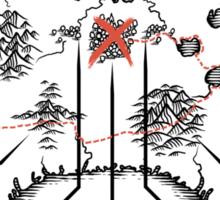 Controller Map Sticker