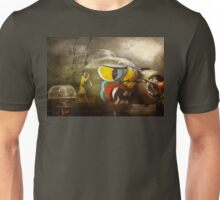 Plane - Pilot - Airforce - Dog Daize Unisex T-Shirt