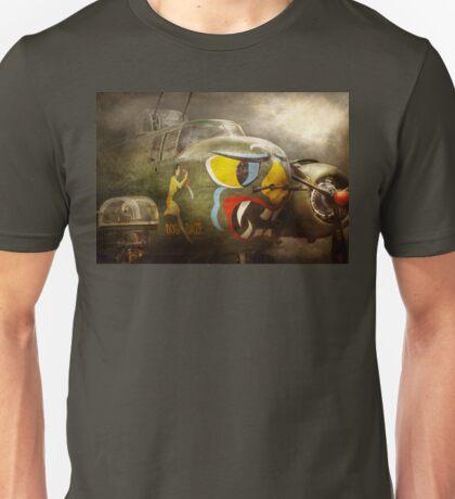 Plane - Pilot - Airforce - Dog Daize Unisex T-Shirt
