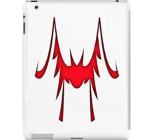 "Red ""Wing"" Style iPad Case/Skin"