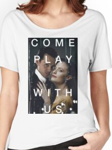 Playing the great game. Women's Relaxed Fit T-Shirt