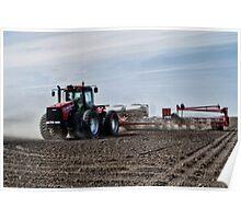 Plantin' Corn Poster