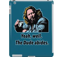 Big Lebowski Philosophy 7 iPad Case/Skin