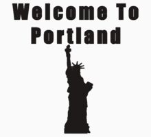 Welcome To Portland by V0IDINTH3W4LL