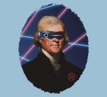 Cyclops + Thomas Jefferson Mash Up by jcestaro33