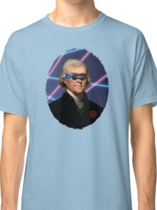Cyclops + Thomas Jefferson Mash Up Classic T-Shirt