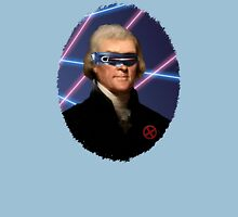 Cyclops + Thomas Jefferson Mash Up Unisex T-Shirt