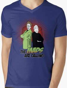 The Mads Are Calling Mens V-Neck T-Shirt
