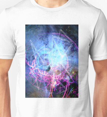 Space and Shapes Unisex T-Shirt