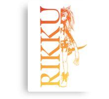 Rikku - Final Fantasy X-2 Canvas Print