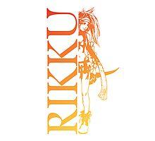 Rikku - Final Fantasy X-2 Photographic Print