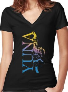 Yuna - Final Fantasy X-2 Women's Fitted V-Neck T-Shirt