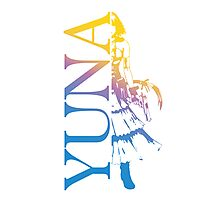 Yuna - Final Fantasy X-2 Photographic Print
