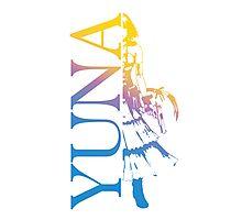 Yuna - Final Fantasy X-2 Photographic Print