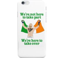 Conor McGregor MMA iPhone Case/Skin