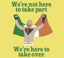 Conor McGregor MMA Baby Tee
