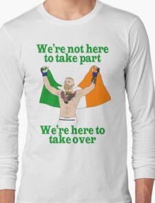 Conor McGregor MMA Long Sleeve T-Shirt