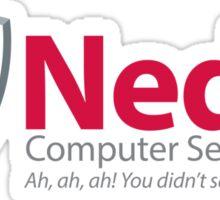 Computer Security Sticker