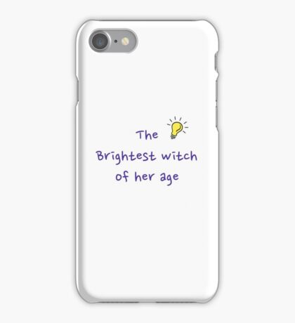 The Brightest Witch iPhone Case/Skin