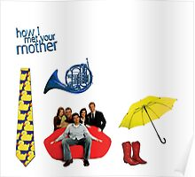 HIMYM stickers Poster